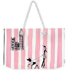 A Walk In London Weekender Tote Bag