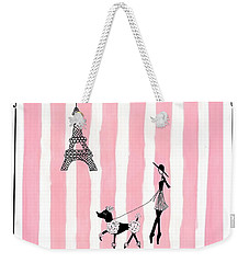 A Walk In Paris Weekender Tote Bag