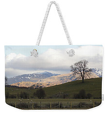 Weekender Tote Bag featuring the photograph A Walk In The Countryside In Lake District England by Tiffany Erdman