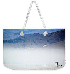 A Walk In The Evening Fog Weekender Tote Bag by AJ  Schibig