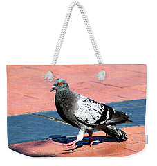 A Walk In The Square Weekender Tote Bag