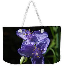 A Weed Is But An Unloved Flower Weekender Tote Bag