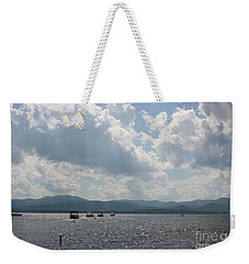 A Weekend On The Water Weekender Tote Bag by Barbara Bardzik