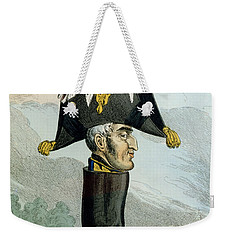 A Wellington Boot Or The Head Weekender Tote Bag by English School