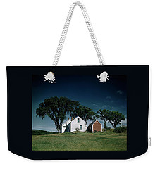 A White House In The Countryside Weekender Tote Bag