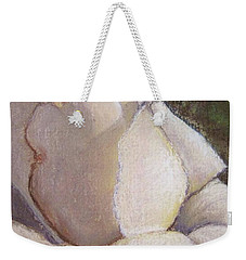 A Whiter Shade Of Pale Weekender Tote Bag by Laurie Morgan