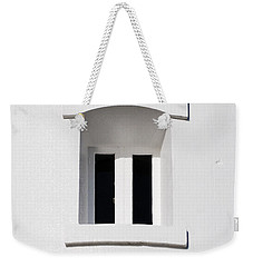 A Window In White Weekender Tote Bag