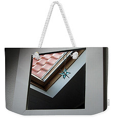 Weekender Tote Bag featuring the photograph A Window To Parallel World by Ausra Huntington nee Paulauskaite