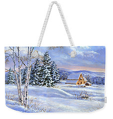 A Winter Afternoon Weekender Tote Bag