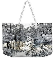 A Winter Scene Weekender Tote Bag