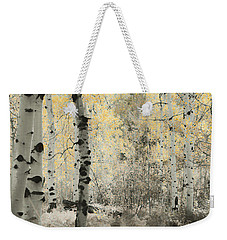 A Wisp Of Gold Weekender Tote Bag by Don Schwartz