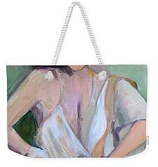 A Woman In Love Weekender Tote Bag