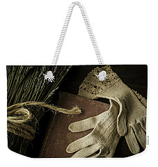 A Woman's Touch Weekender Tote Bag by Amy Weiss