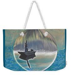 A World Of Good Fishing Weekender Tote Bag by Mike Breau