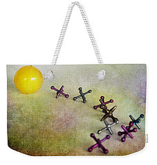 A Young Girls Game From 1950 Weekender Tote Bag by David and Carol Kelly