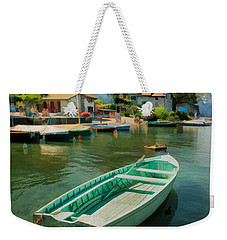 A Yvoire - France Weekender Tote Bag