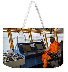 Ab Seated At Dp Panel Weekender Tote Bag
