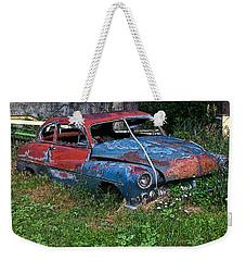 Abandoned 1950 Mercury Monteray Buick Weekender Tote Bag