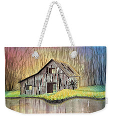 Abandoned By The Water Weekender Tote Bag