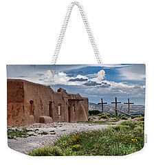 Abandoned Church In Abiquiu New Mexico Weekender Tote Bag
