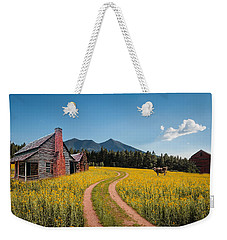Abandoned Country Life Weekender Tote Bag