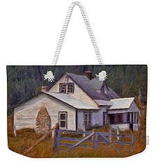 Abandoned Farm House Weekender Tote Bag by Richard Farrington
