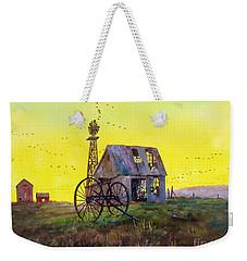 Abandoned  Farm Weekender Tote Bag by Lee Piper