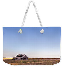Abandoned Farmhouse In A Field Weekender Tote Bag