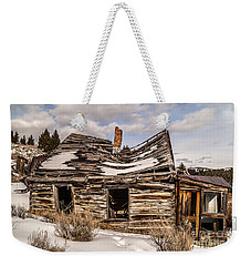 Abandoned Home Or Business Weekender Tote Bag by Sue Smith