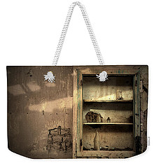 Abandoned Kitchen Cabinet Weekender Tote Bag