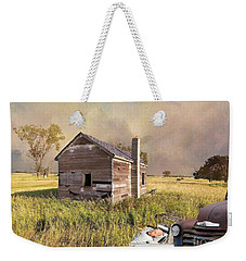 Weekender Tote Bag featuring the photograph Abandoned by Liane Wright