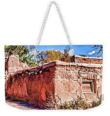 Weekender Tote Bag featuring the painting Abandoned by Muhie Kanawati