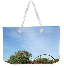 Abandoned Old Horse Rake  Weekender Tote Bag