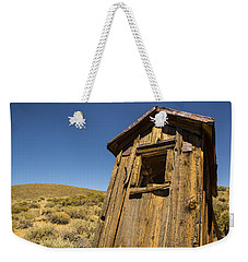 Abandoned Outhouse Weekender Tote Bag