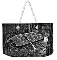 Abandoned Rowboat Weekender Tote Bag