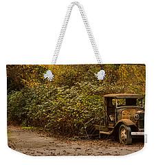 Abandoned Truck Weekender Tote Bag