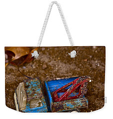 Weekender Tote Bag featuring the photograph Abandoned Truck by Xn Tyler
