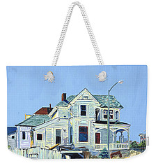Abandoned Victorian In Oakland  Weekender Tote Bag by Asha Carolyn Young