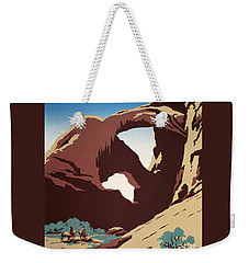 Abbey Country Weekender Tote Bag by Pg Reproductions