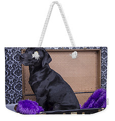 Weekender Tote Bag featuring the photograph Abby by Alana Ranney