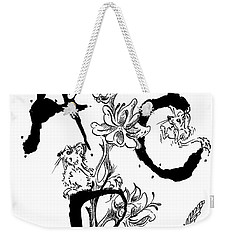 A B C  Weekender Tote Bag