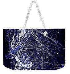 Aberration Of Jelly Fish In Rhapsody Series 3 Weekender Tote Bag by Antonia Citrino
