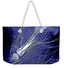Aberration Of Jelly Fish In Rhapsody Series 5 Weekender Tote Bag by Antonia Citrino