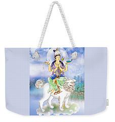 Weekender Tote Bag featuring the photograph Abhetri Kuan Yin  by Lanjee Chee
