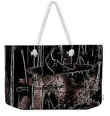 Weekender Tote Bag featuring the painting Abidjan by Cleaster Cotton
