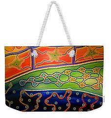 Original Sold Aboriginal Inspirations 7 Weekender Tote Bag