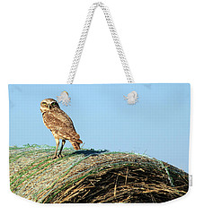 About To Bale Weekender Tote Bag