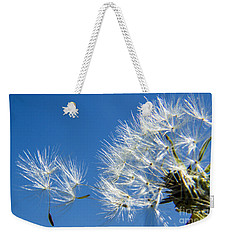 About To Leave - Dandelion Seeds Weekender Tote Bag