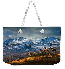 Above Strathglass Weekender Tote Bag