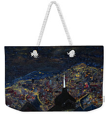 Above The City At Night Weekender Tote Bag
